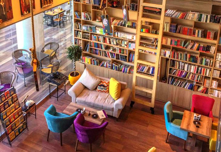 Book Cafe, A Unique and Special Idea